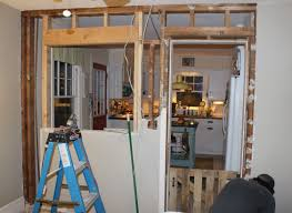 kitchen wall demolition and renovation simplymaggie com