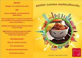 affiche atelier cuisine affiche cours de cuisine jpg