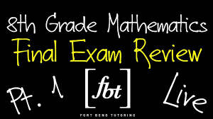 8th grade eoc final exam review part 1 fbt eighth grade