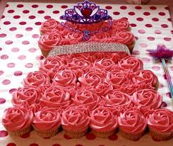 princess cupcake dress homemade food junkie
