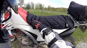 review of maddog gear coleman comfort ride seat protector crf250l