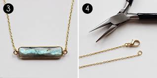 Create Your Own Necklace Make Your Own Easy Labradorite Necklace More Com
