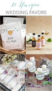 unique wedding favors 10 unique wedding favor ideas weddings ideas from evermine