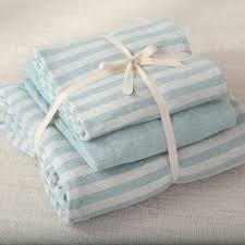 light blue jersey fabric 4pcs 100 cotton soft warm jersey knitted fabric light blue stripe