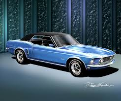 1969 mustang grande 1969 1970 ford mustang prints posters by danny whitfield