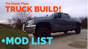 jeep truck prerunner truck update for the z71 silverado youtube