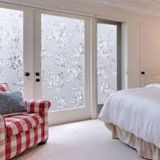 amazon com coavas no glue static decorative privacy window film
