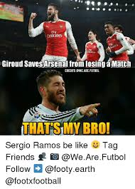 Awe Meme - emirates giroud savesarsenal fromlosing match credits awe are futbol