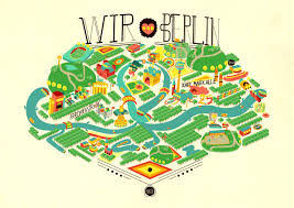 Map Of Berlin Germany by The Coolest Design Maps Of Berlin Iheartberlin De