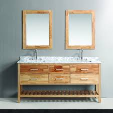 design element bathroom vanities design element 72 inch oak finish sink vanity set with
