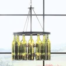 lights made out of wine bottles 11 eye popping chandeliers made from the everyday wine bottle