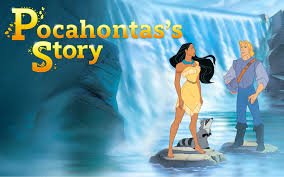 reading pocahontas disney princess story book