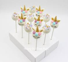 cake pops unicorn themed cake pops hunny do cake pops
