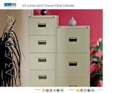 Secure Filing Cabinet A New Generation In Storage Solutions Silverline Brochure 2010