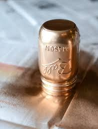 diy metallic mason jars how sweet eats