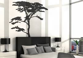 realistic winter tree wall decal headboard wall decal home