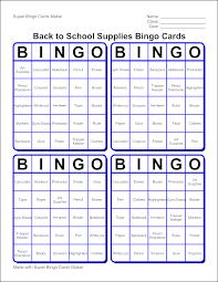 edubakery com make a bingo cards game with super bingo cards maker
