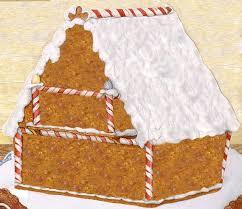 trim a jan brett gingerbread baby house