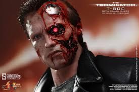 Terminator Halloween Costume 800 Battle Damaged Version Sideshow Collectibles