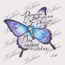 cross with butterfly wings design 42646 createmytattoo