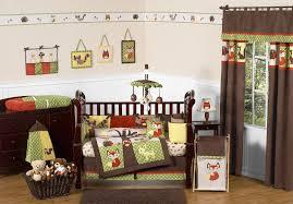 Owl Nursery Bedding Sets by Woodland Forest Animals Crib Bedding 9pc Baby Boy Nursery Set