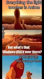 Lion King Shadowy Place Meme Generator - anime lion king anime funnies and memes pinterest anime lion