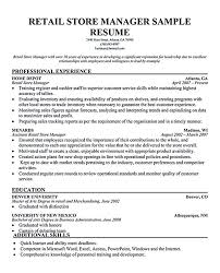 manager resume exles retail manager resume exles retail manager resume is made for
