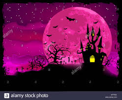 halloween poster with zombie background stock photo royalty free