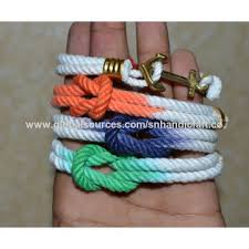 rope bracelet with anchor images India anchor rope bracelet nautical bracelet nautical anchor jpg