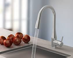 Kitchen Sink Sts Touch On Kitchen Sink Faucets Symmons Sereno Single Handle Pull