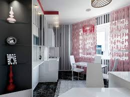 Contemporary Kitchen Curtains with Kitchen Modern Kitchen Curtains And 51 Decoration Red Net