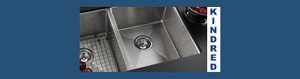Kitchen Sinks Toronto Kindred Stainless Kitchen Sinks Markham Bath Emporium Toronto Canada