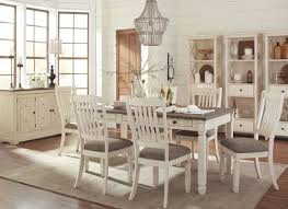 Hamlyn Dining Room Set by Bolanburg White And Gray Rectangular Dining Room Set From Ashley