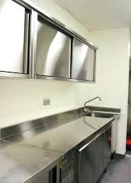 meuble cuisine tout en un cuisine tout inox cuisine inox particulier inox pour professionnels