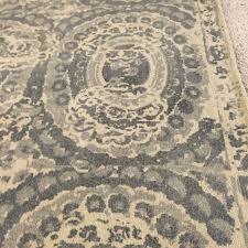 Pottery Barn 8x10 Rug by Authentic New Pottery Barn Bosworth Printed Rug Gray 8 X 10 Nwt