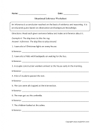 6th grade reading comprehension worksheets with answers nara