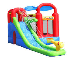 bounceland water slide with playstation bounce house u0026 reviews