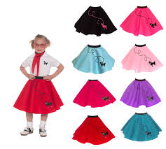 poodle skirt halloween costume hip hop 50 u0027s shop