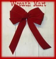 wreath mart bows