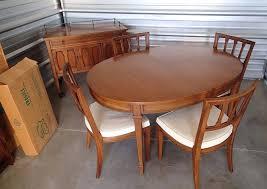 mid century walnut dining table vintage mid century modern dining set mid century teak dining chairs
