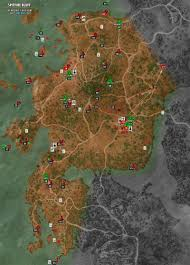 The Witcher 3 World Map by Spitfire Bluff Map The Witcher 3 Walkthrough Maps U0026 Game Guide