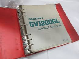 suzuki 1985 1986 gv1200 madura dealer service manual u2022 39 99
