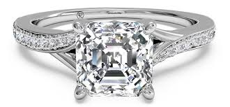 Square Wedding Rings by 5 Square Engagement Rings To Adore Ritani