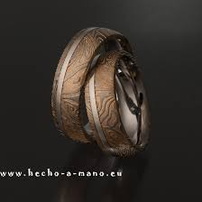 damascus steel wedding band damascus steel wedding bands rhea s ring gold silver inlay