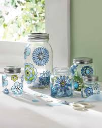 martha stewart kitchen canisters gussied up glass 20 crafts made using martha stewart crafts glass