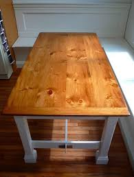 Pine Table Knotty Pine Farmhouse Table Cz Woodworking