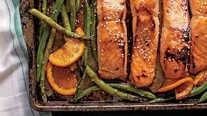 honey soy glazed salmon southern living