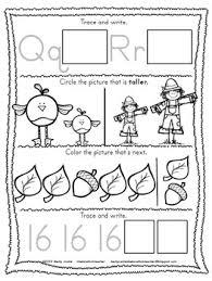 thanksgiving activities kindergarten morning work november tpt