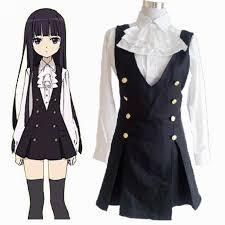 Anime Halloween Costumes Anime Cosplay Inu Boku Secret Service Ss Shirakiin