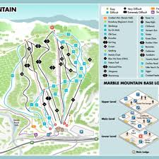 Map Of Colorado Ski Resorts by Marble Mountain Trail Map Liftopia